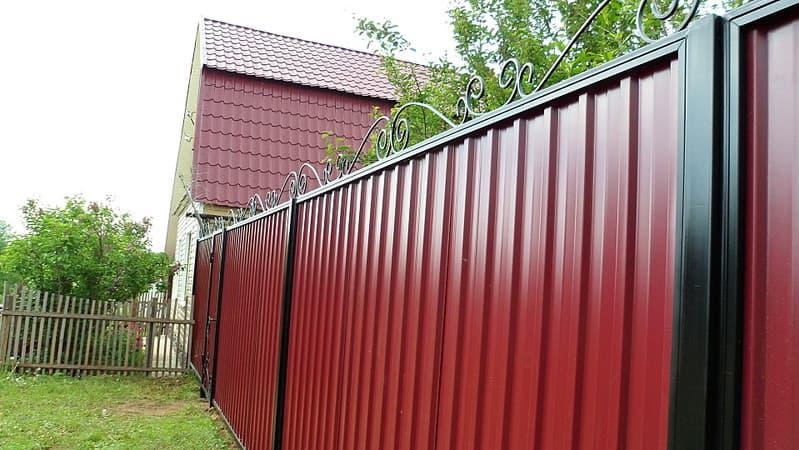 6242239 - Забор для загородного дома своими руками